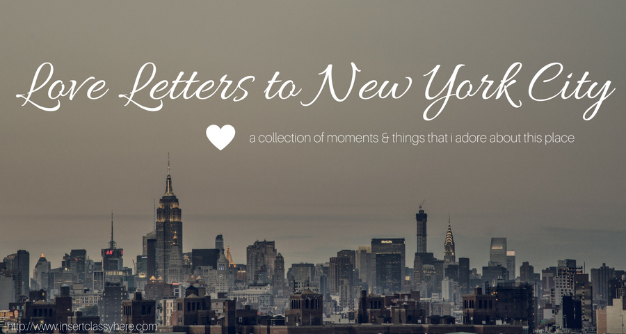 Love Letters to NYC: Vol. 2