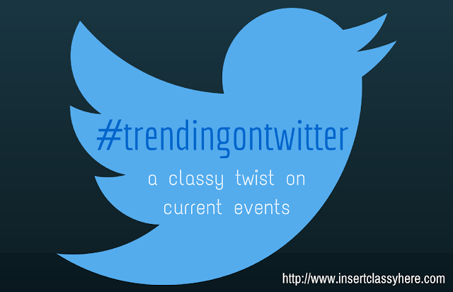 #trendingontwitter: Snow Storms & Other Storms