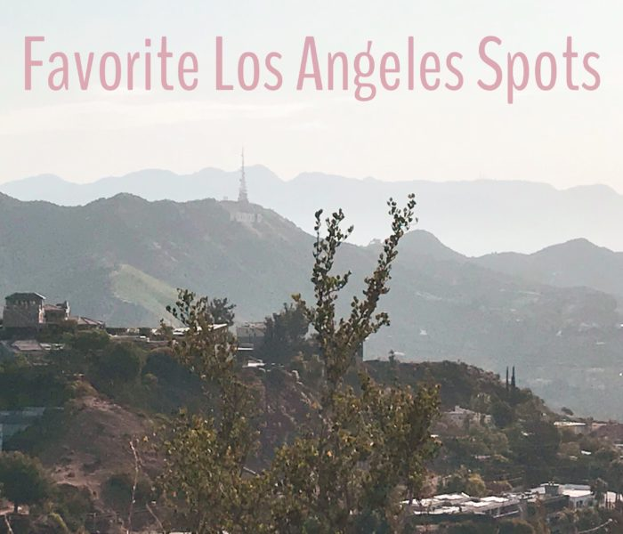 Time Spent in Los Angeles